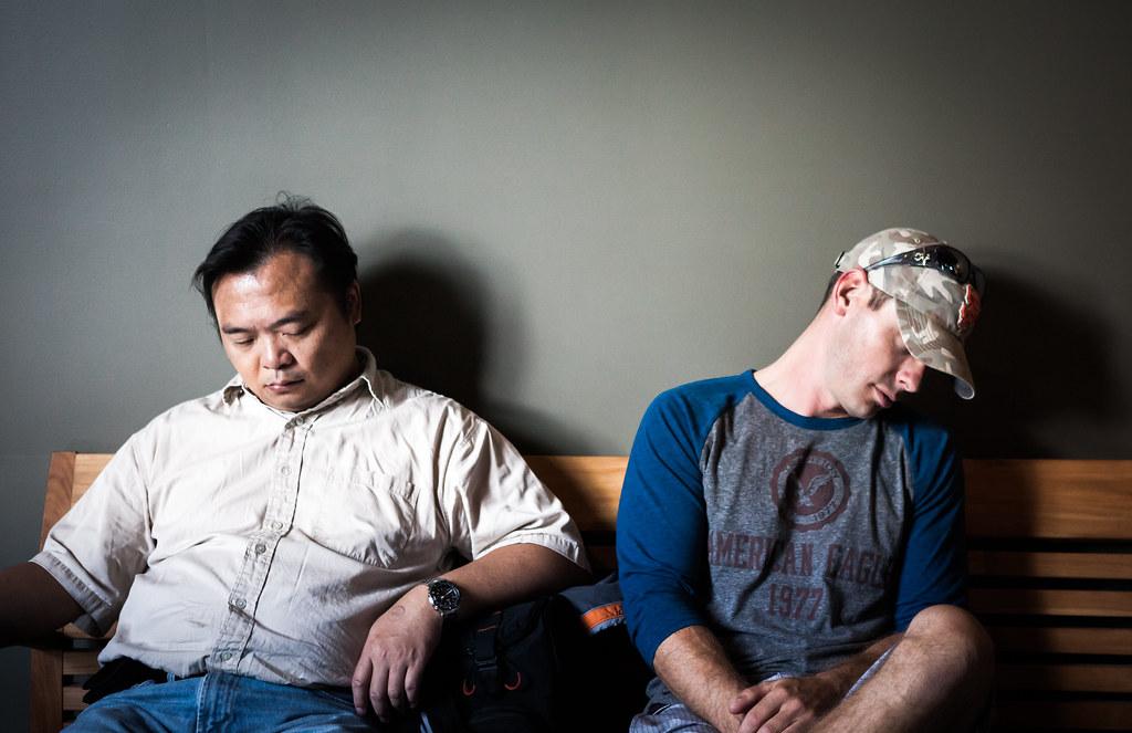 Asleep at the Exploratorium