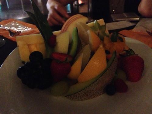 フルーツの盛り合わせ@PARK HOTEL Lounge Night