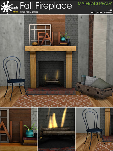 mudhoney fall fireplace