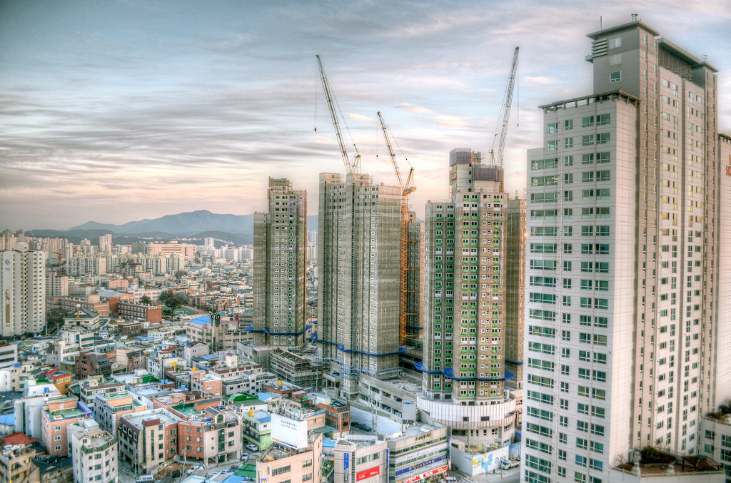 Daegu Big Grey Buildings