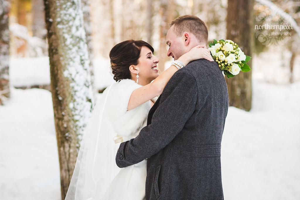 Winter Wedding Photography Prince George BC