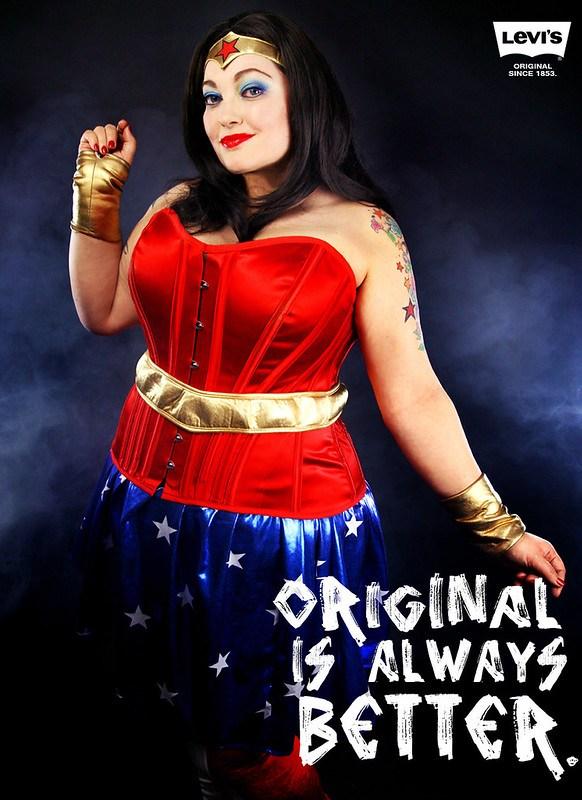 Levi's - Original is Always Better Wonder Woman