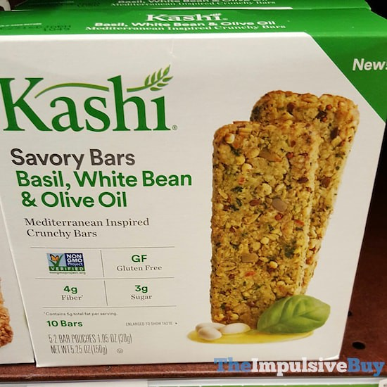 Kashi Basil, White Bean & Olive Oil Savory Bars