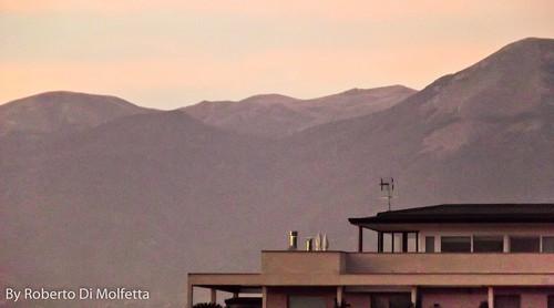Frosinone - Paesaggio montuoso by Roberto Di Molfetta