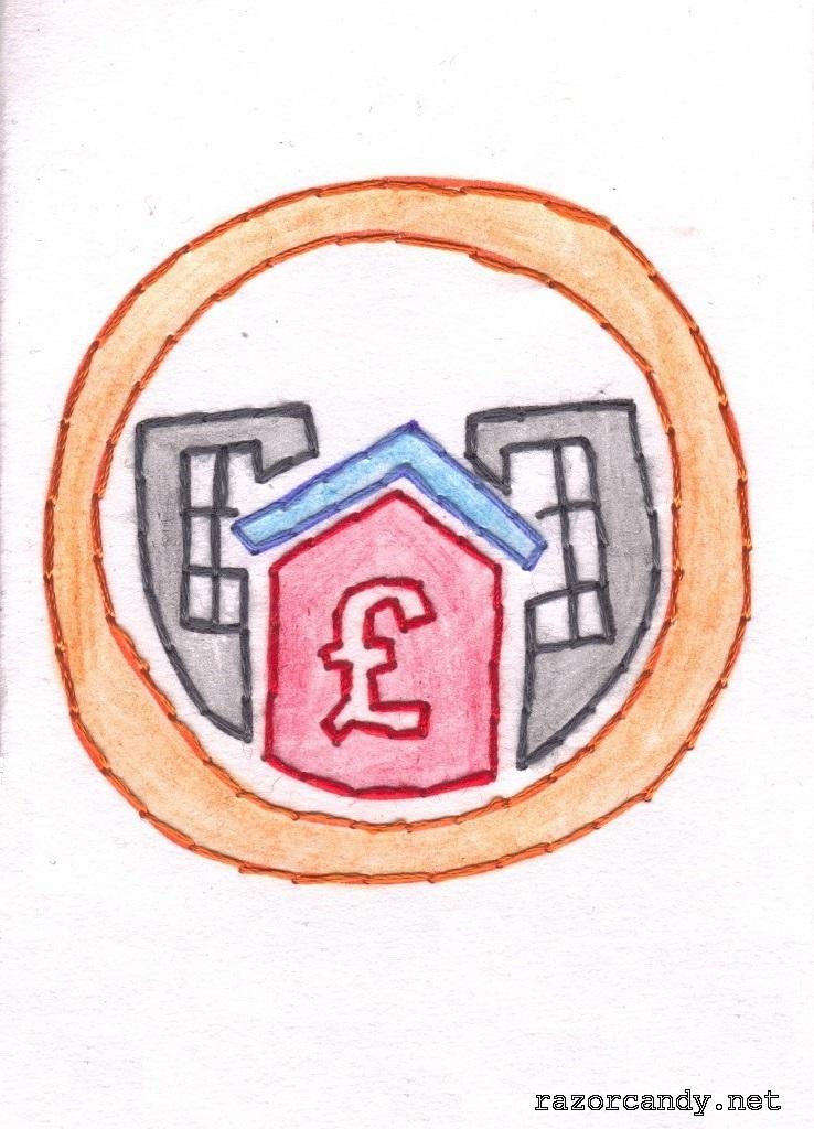 Pop-Up Business School Logo - Scan