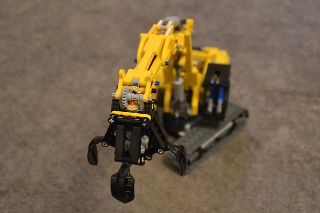 Lego Excavator