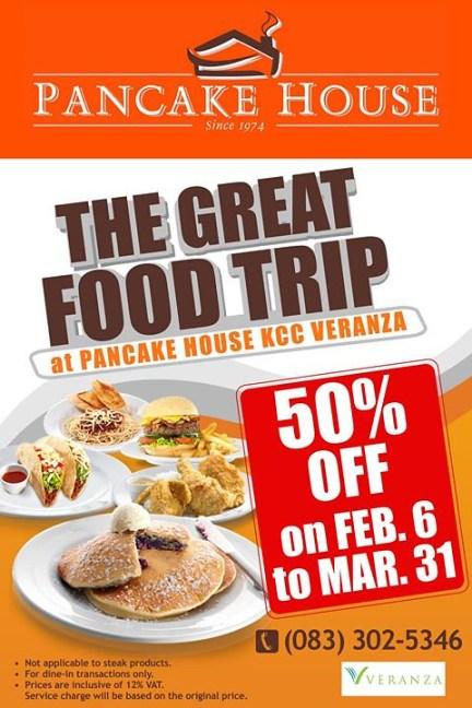pancake house veranza gensan promo