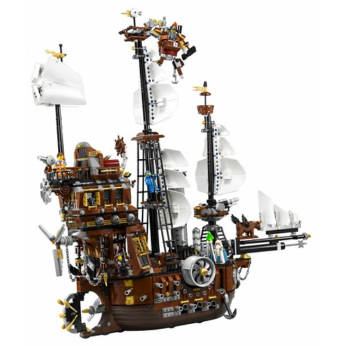 The LEGO Movie 70810 MetalBeard's Sea Cow set 4