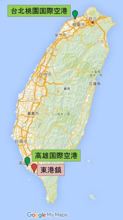 160710 台湾マップ