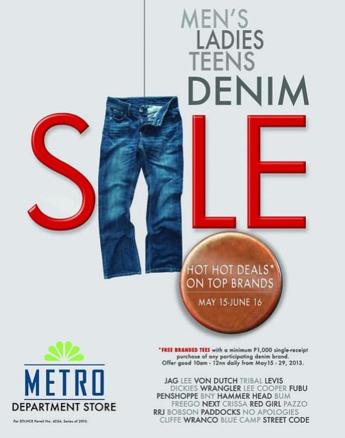 Metro Denim Sale