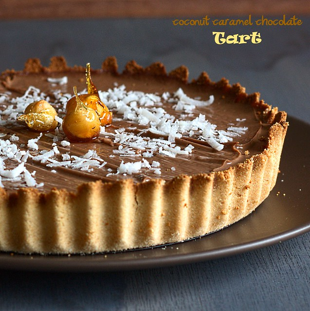 Chocolate tart wording