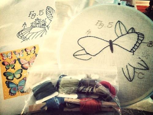 WIP: butterfly stitch
