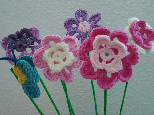 Flores acabadas