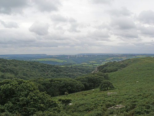 View from Dewerstone Rock