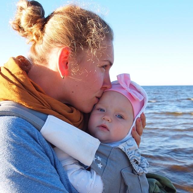 """Так люблю море! Особенно, Балтийское. Место силы, прямо. Это фото снять @danissimmo и названо любимые """"золотые ушки и девочки"""" #nofilter #настяпончик"""