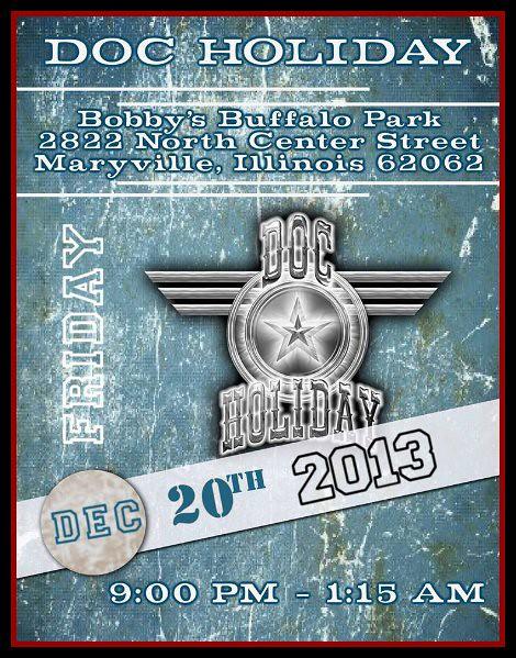 Doc Holiday 12-20-13