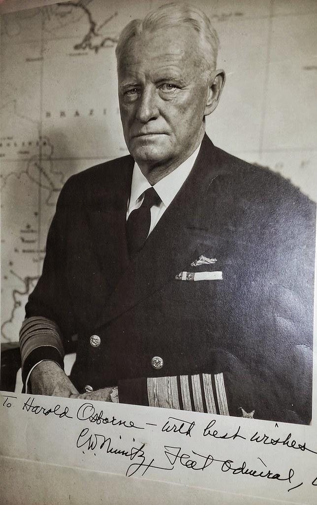 Chester Nimitz Autograph