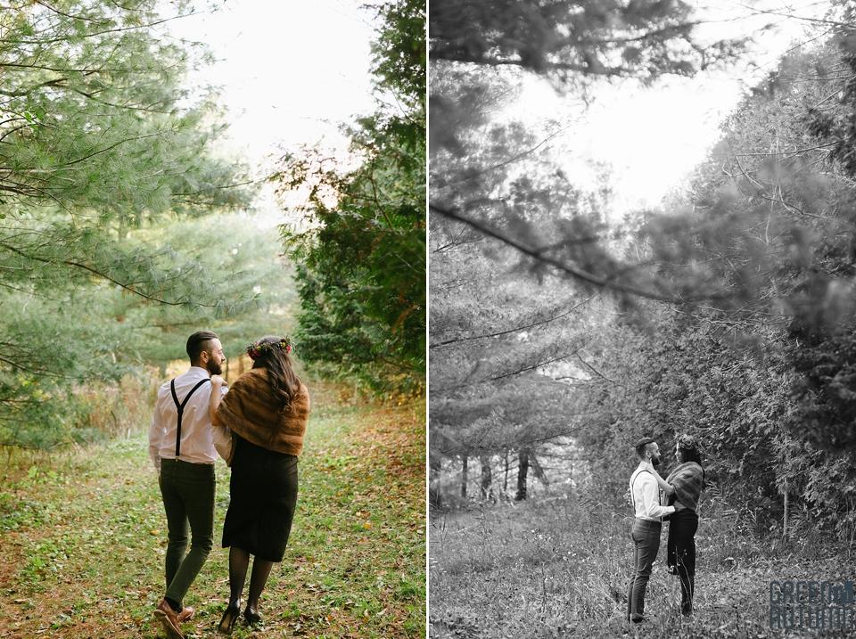 Wedding Creative Inspiration Hamilton Woodland engagement Photography 0024