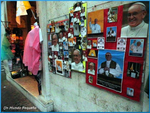 Fotos postales Papa Francisco