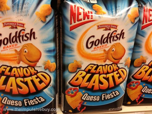 Pepperidge Farm Goldfish Flavor Blasted Queso Fiesta
