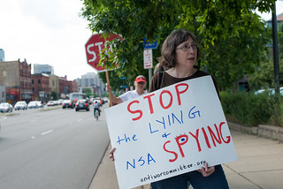 Protest against NSA surveillance