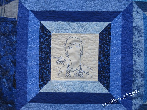 The Tenth Doctor, quilted