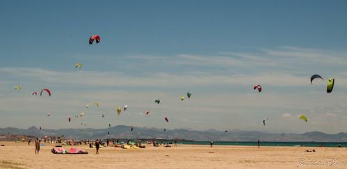 Playa de Valdevaqueros, Tarifa by JoseluBilbo.