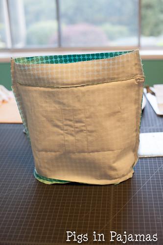 Swoon Bucket Bag Lining