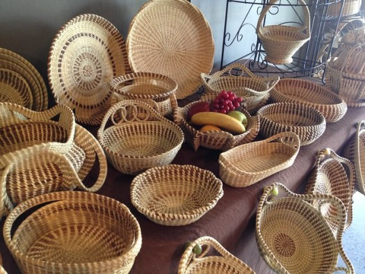 Charleston Sweetgrass Baskets