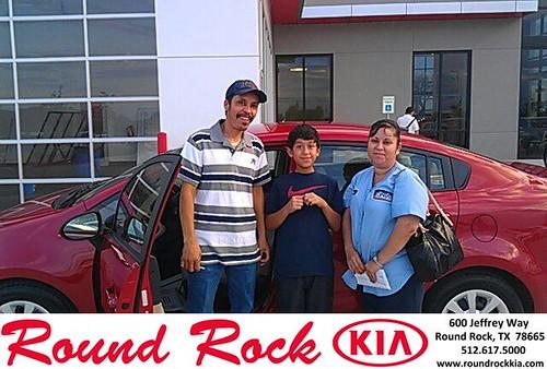 Thank you to Jose Rodriguez on your new 2013 Kia Rio from Fernando Fernandez and everyone at Round Rock Kia! by RoundRockKia