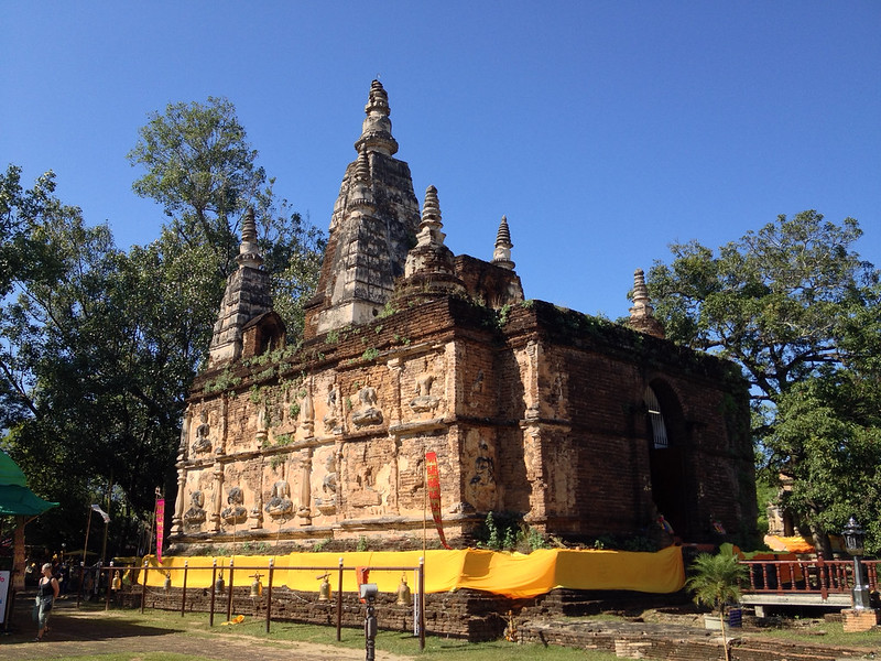 The Maha Chedi of Wat Chet Yot