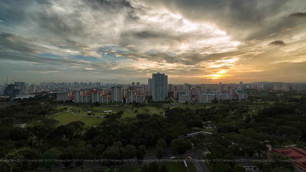 Bishan Park Sunset