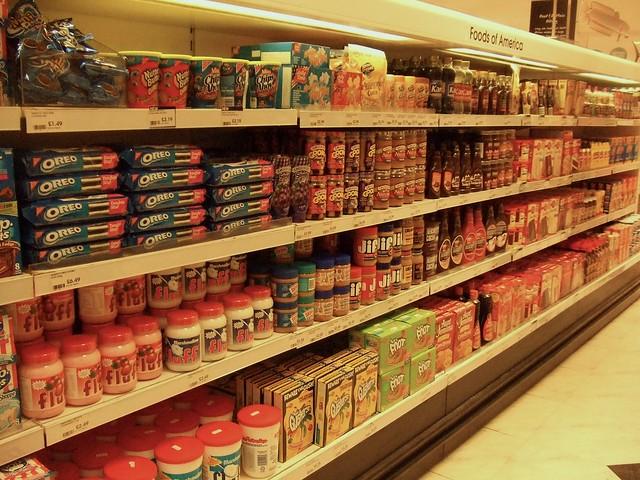 """American"" Foods at Selfridges"