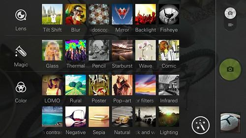 การใส่เอฟเฟ็กต์ต่างๆ ของ SNAPit บน Lenovo Vibe X