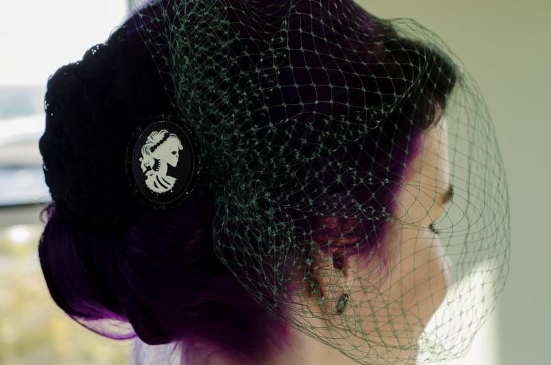 Veil & Hairpiece