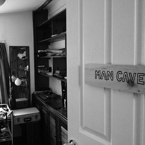 Officially the Man Cave. May.08.13