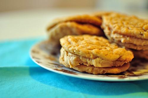 Oatmeal Peanut Butter Sandwich Cookies 1