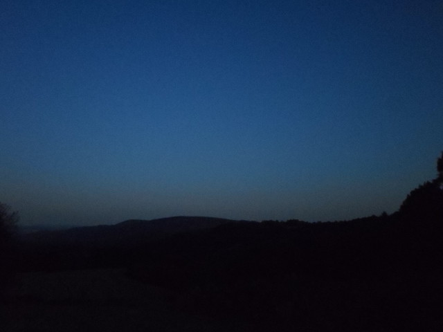 Twilight near Saint Goussaud