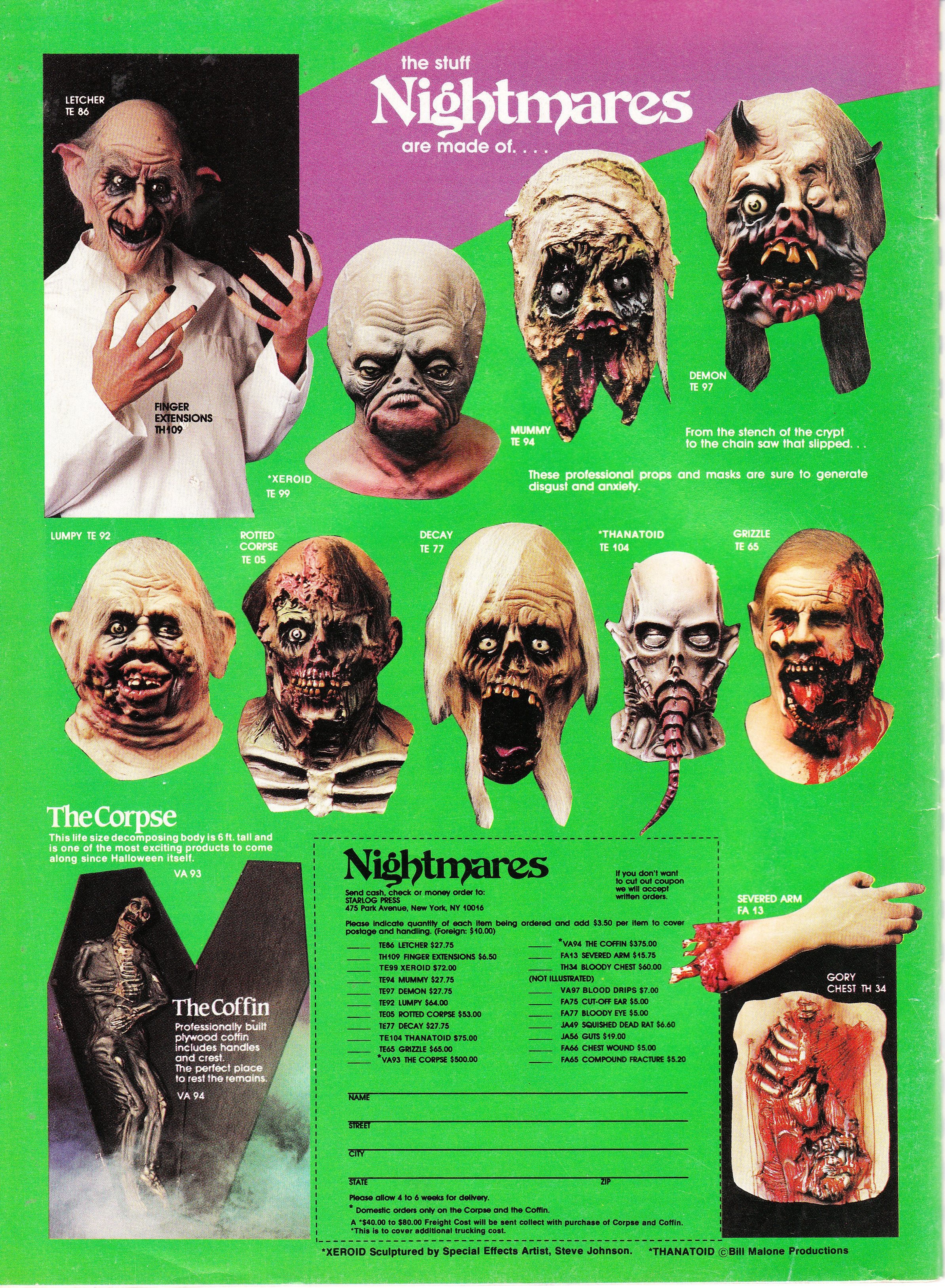 Nightmare Masks