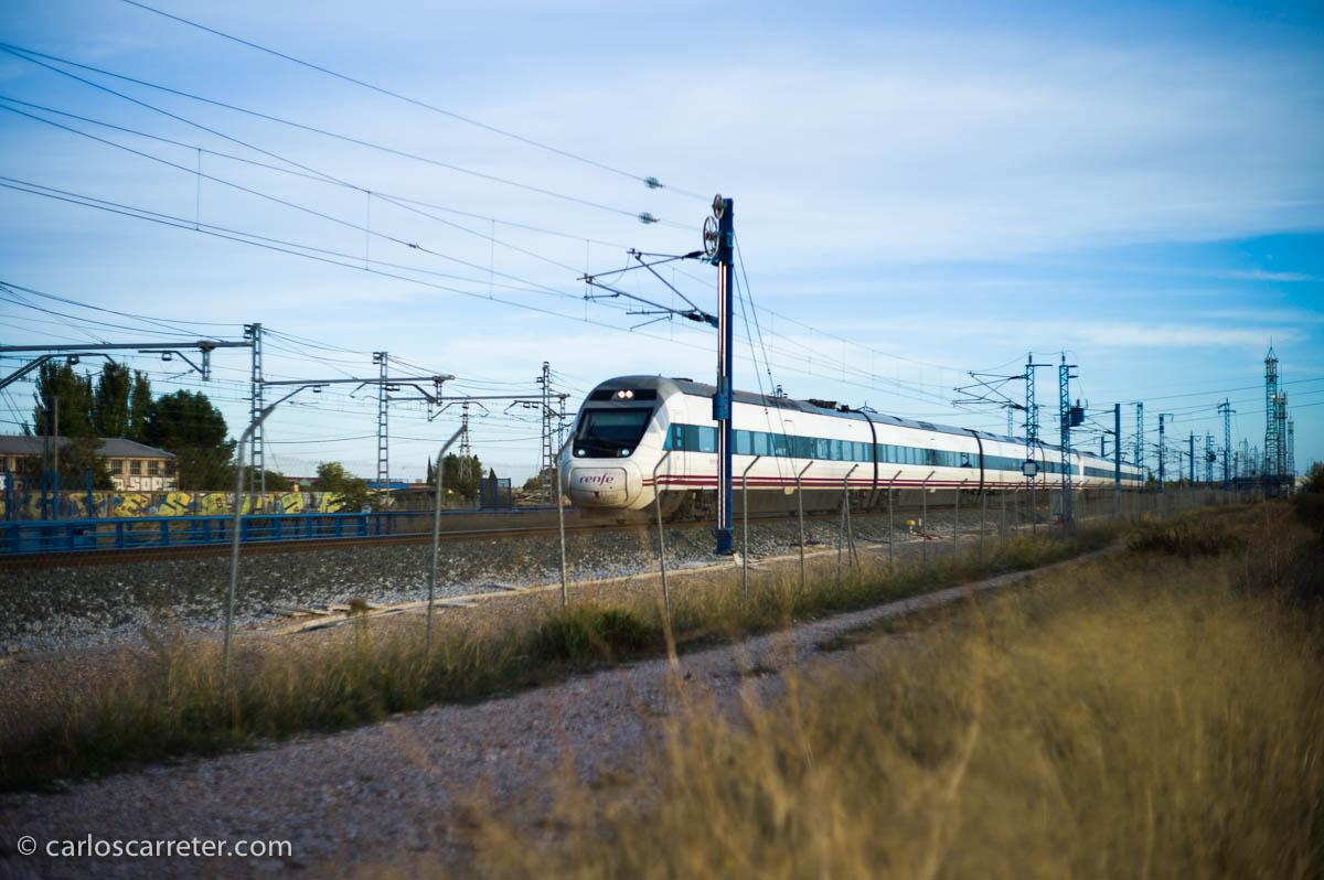 Tren en Miraflores