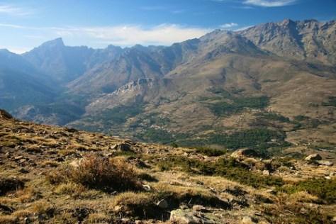 Walk from Corte to Calacuccia, Corsica