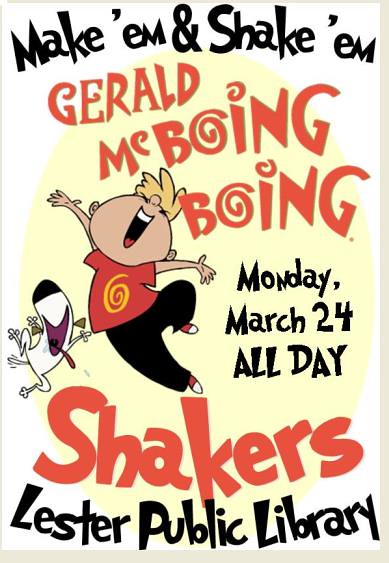 McBoing Boing Shakers
