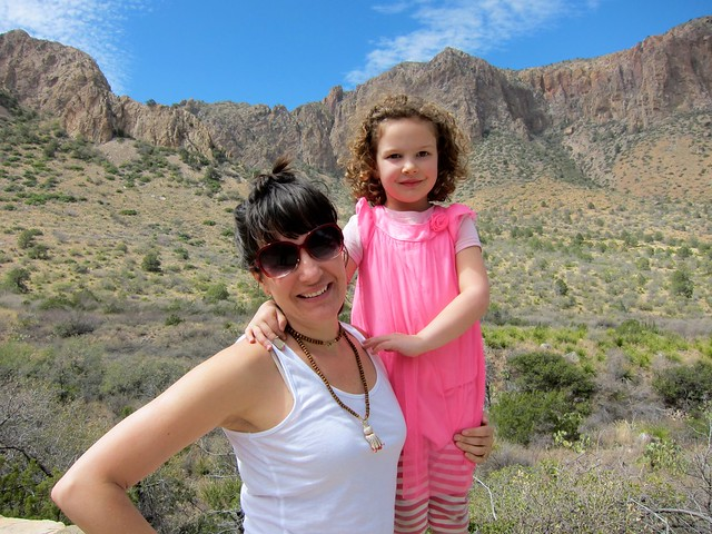 Maile and Anais in Big Bend