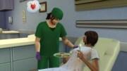 Les Sims 4 au travail médecin