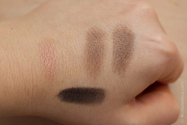 05 Avon Luxe Eyeshadow   Luxurious Nudes swatches