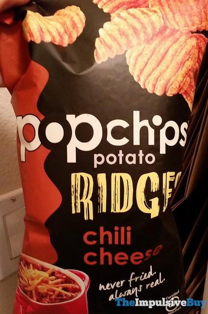 Popchips Potato Ridges Chili Cheese