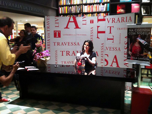 Nigella na Travessa do Leblon - 08/05/2013