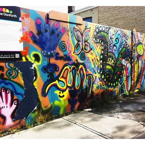 #danforth#streetart#toronto
