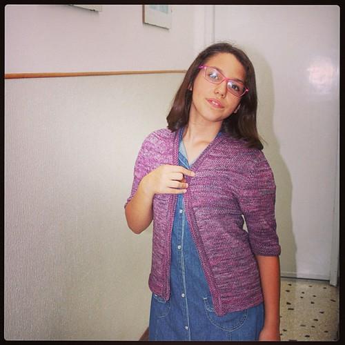 Mi-Julliet for my daugheter #cheaphappiness #ravelry  #kint #knitting #lavoroamaglia #fattoamano #handmadewithlove #serialknitters #physalis #sandrinec #grainedelaine