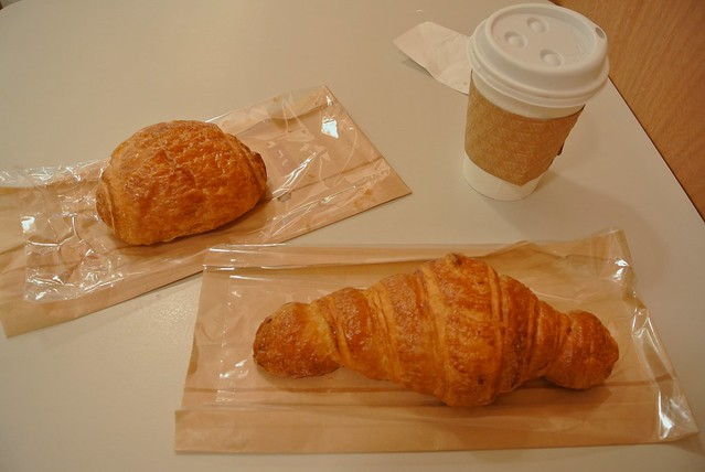 Croissant and Pain au chocolat